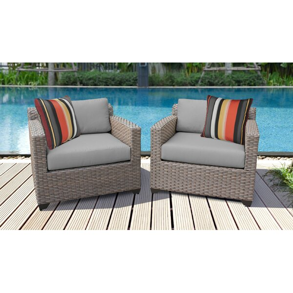 Brennon Patio Chair with Cushions (Set of 2) by Sol 72 Outdoor Sol 72 Outdoor