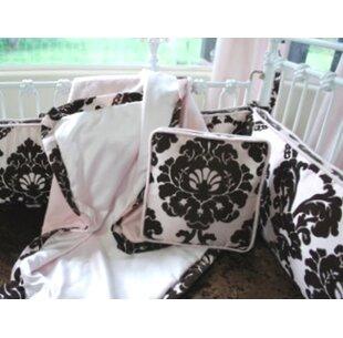Check Prices Bordeaux 3 Piece Crib Bedding Set ByBlueberrie Kids