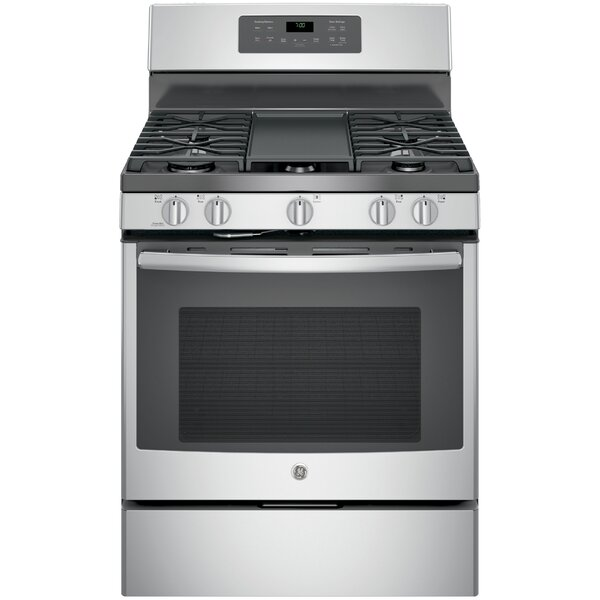 30 Free-Standing Gas Range with Griddle by GE Appliances