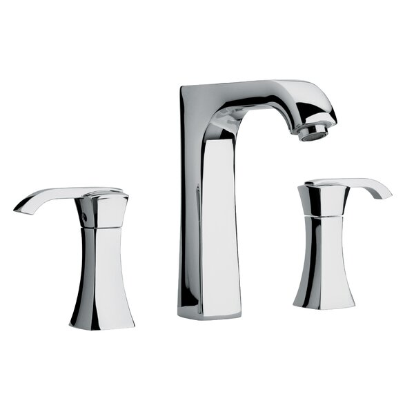 J11 Bath Series Two Lever Handle Roman Tub Faucet with Arched Spout by Jewel Faucets
