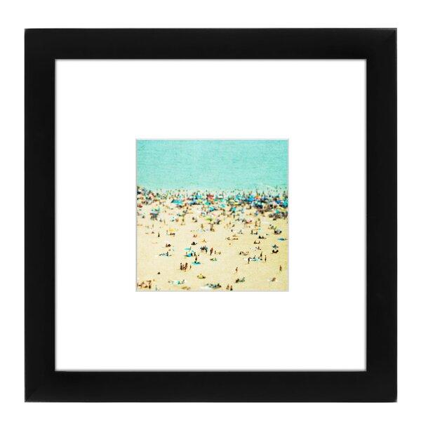 Coney Island Beach II Framed Photographic Print by East Urban Home