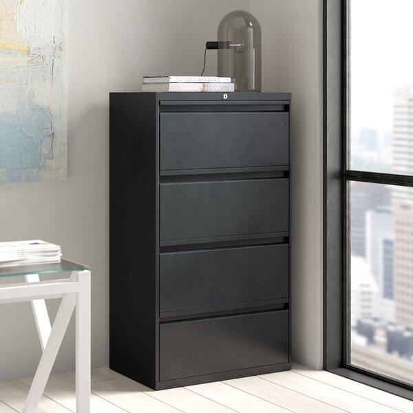 Yazzie 4-Drawer File Cabinet