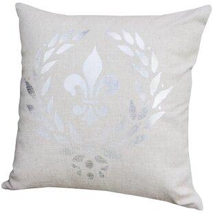 Fleur De Lis Pillow Wayfair