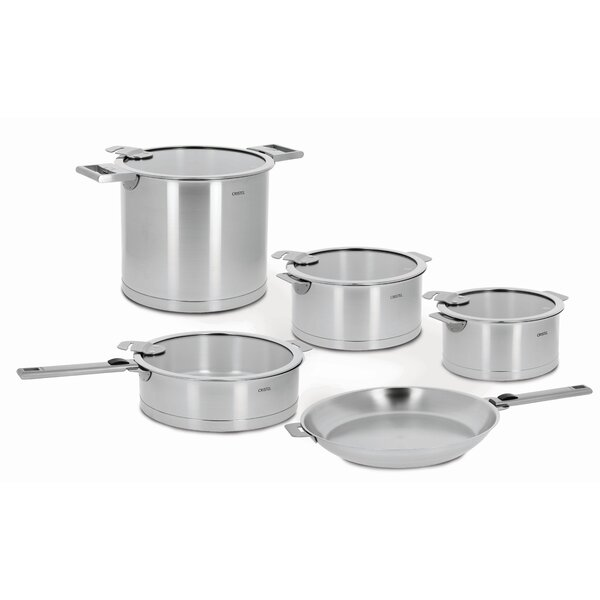 Strate 13-piece Stainless Steel Cookware Set by Cristel
