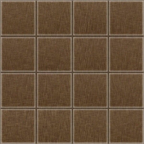 2 x 2 Glass Decorative Mural Tile in Brown by Upscale Designs by EMA