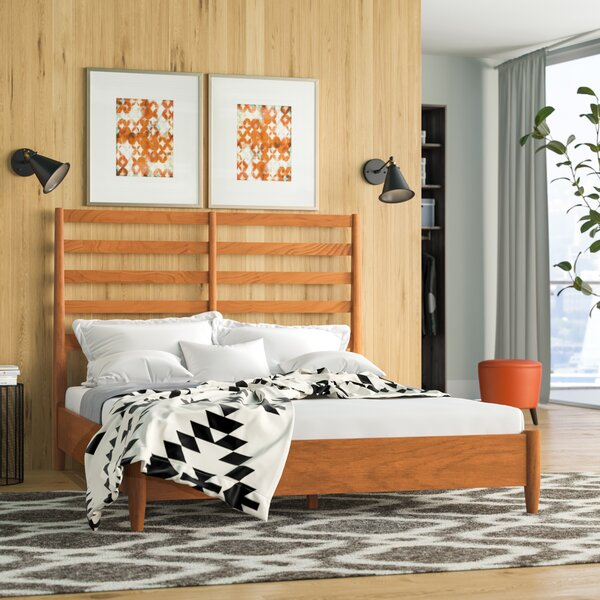 Parocela Retro Standard Bed by Modern Rustic Interiors