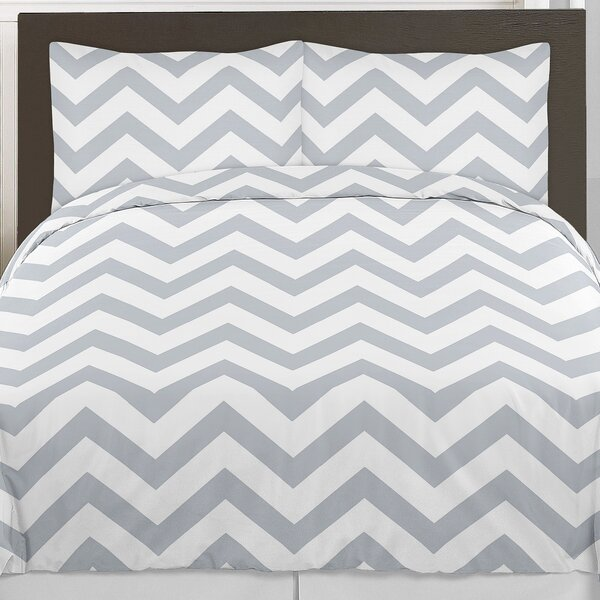 Chevron 3 Piece Comforter Set by Sweet Jojo Designs