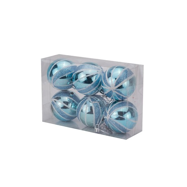 Ball Ornament (Set of 24) by The Holiday Aisle