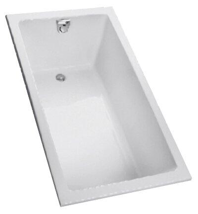 Enameled  60 x 30 Soaking Bathtub by Toto