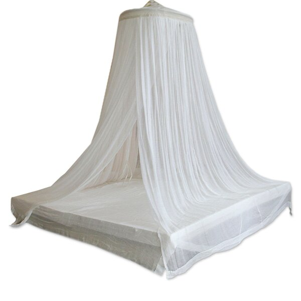 Mcarthur Indonesia Ethereal Dream Bed Canopy by Bloomsbury Market