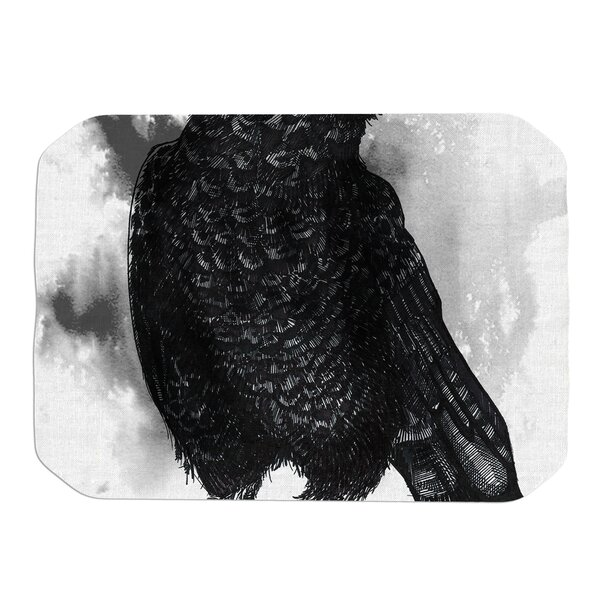 Crow Placemat by KESS InHouse