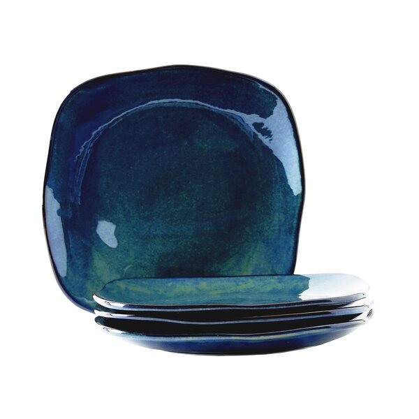 Connellsville  Reactive Glaze  9 Salad Plate (Set of 4) by Foundry Select