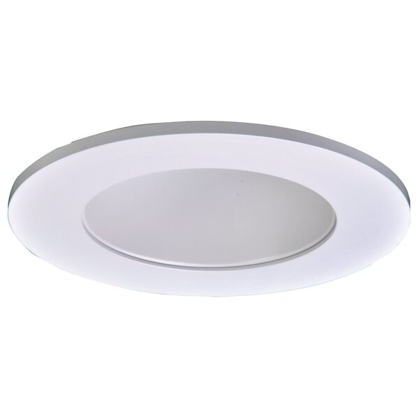 4 in.  Lensed Showerlight Recessed Trim by Halo