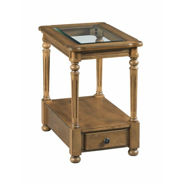 Serena End Table with Storage by Charlton Home