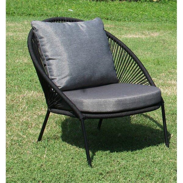 Blazice Patio Chair with Cushions by Brayden Studio Brayden Studio