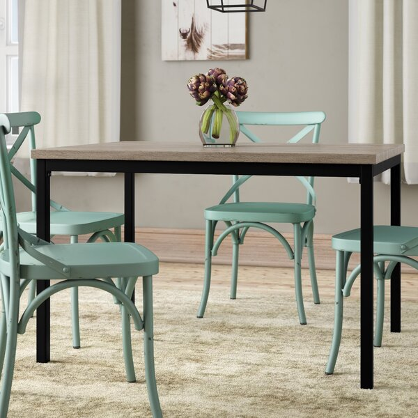 Keesey Dining Table by Gracie Oaks