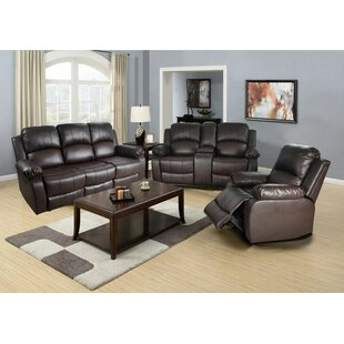 Lucius Faux Leather Reclining Living Room Set by Beverly Fine Furniture