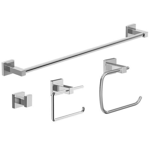 Duro 4-Piece Bathroom Accessory Set by Symmons