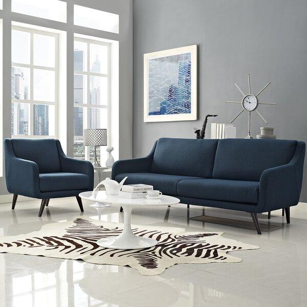 Verve 2 Piece Living Room Set by Modway