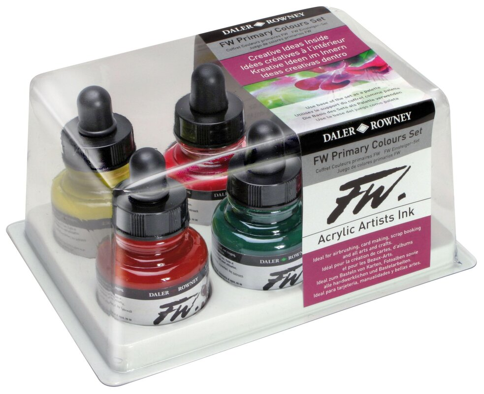 Daler-Rowney Liquid Artists Acrylic Ink & Reviews | Wayfair