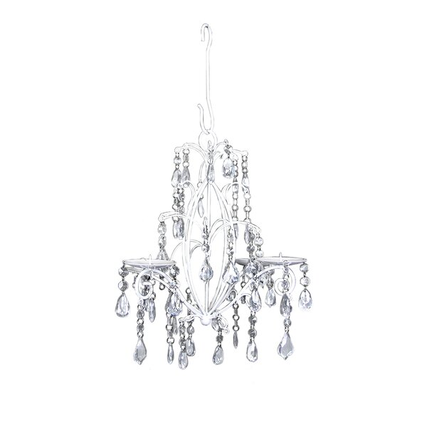 Glam Beaded Glass Candelabra by House of Hampton