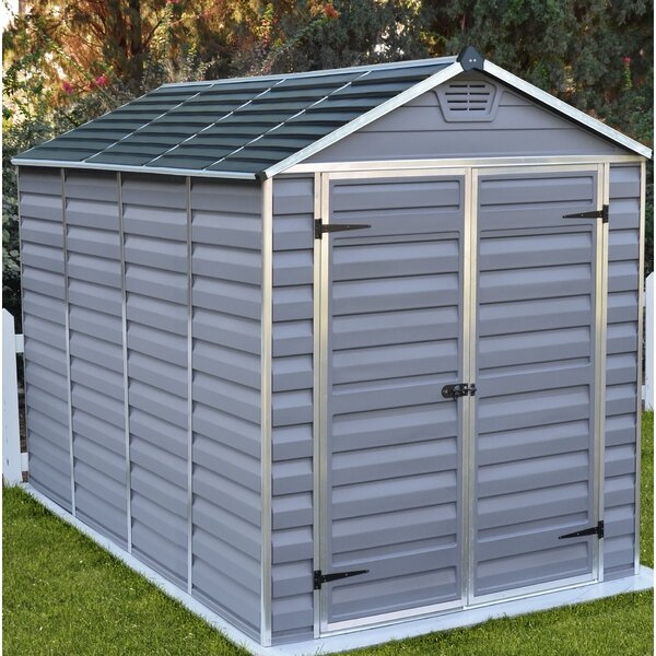 SkyLight™ 6 Ft. W x 10 Ft. D Polycarbonate Storage Shed by Palram