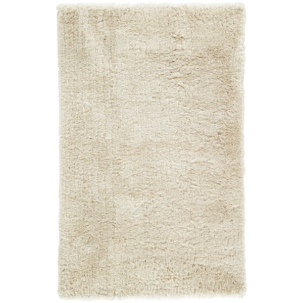 Cadence Shag And Flokati Cream Area Rug by Williston Forge