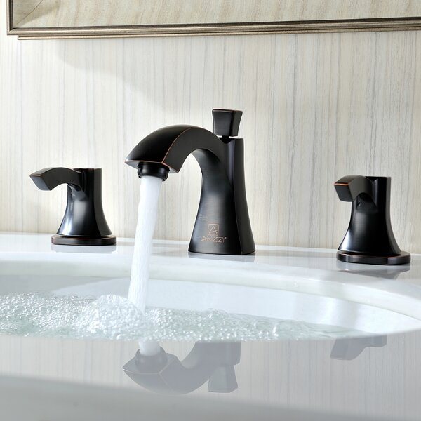 Sonata Widespread Bathroom Faucet with Drain Assembly by ANZZI