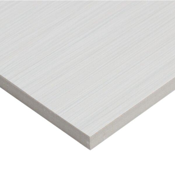 Fabrique 12 x 24 Porcelain Wood Look Tile in Blanc Linen by Daltile