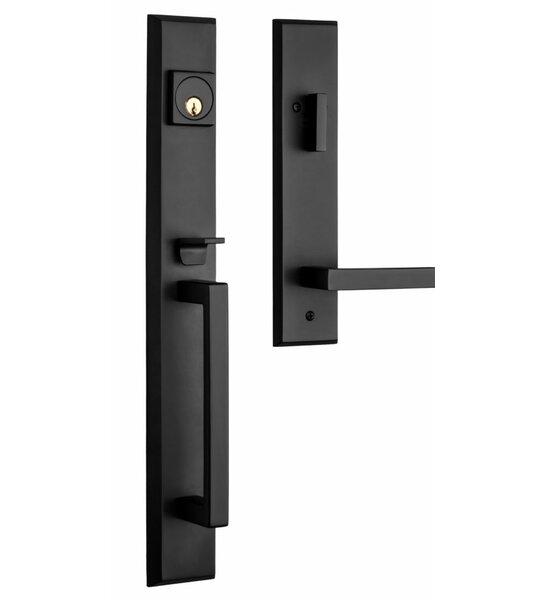 Premium Lumina Single Cylinder Handleset by Rockwe