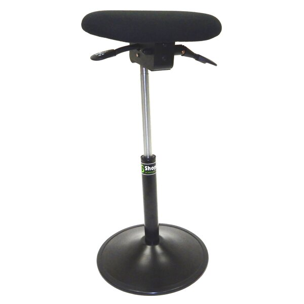 Modern Sit-Stand Height Adjustable Office Chair with Footring and Back by Symple Stuff