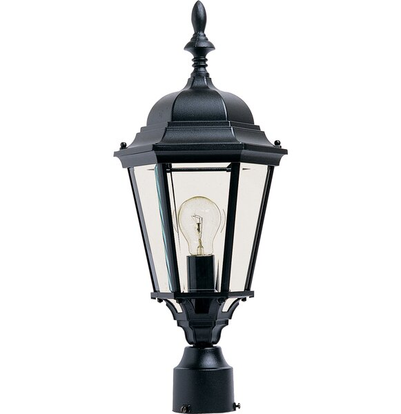 Listermann Cast Outdoor 1-Light Lantern Head by Alcott Hill