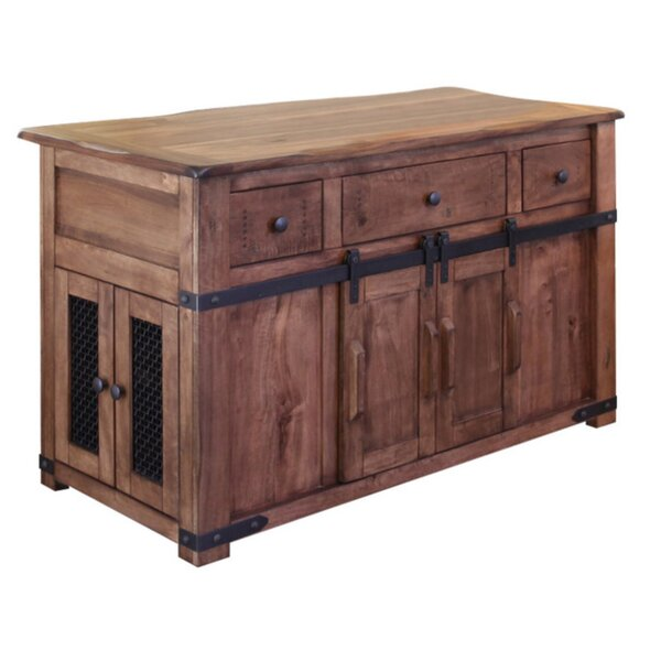 Hinton Kitchen Island by Gracie Oaks