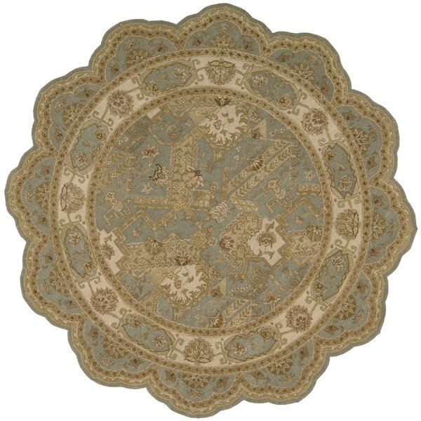 Heritage Hall Blue/Beige Abstract Area Rug by Westford Oriental and Contemporary Rugs
