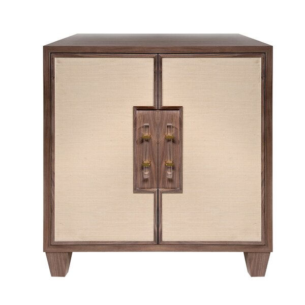 2 Door Accent Cabinet by Worlds Away Worlds Away