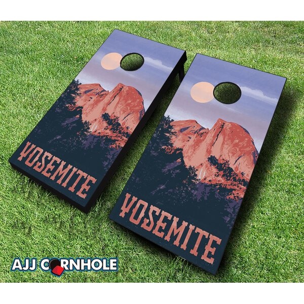 Yosemite National Park Cornhole Set by AJJ Cornhole