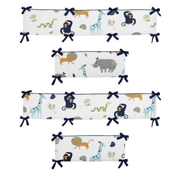 Mod Jungle Crib Bumper by Sweet Jojo Designs