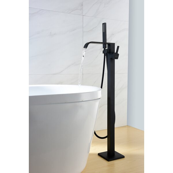 SevenFalls Single Handle Floor Mounted Freestandin