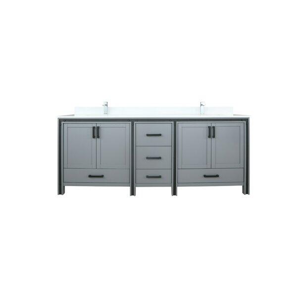 Avritt 84 Double Bathroom Vanity Set