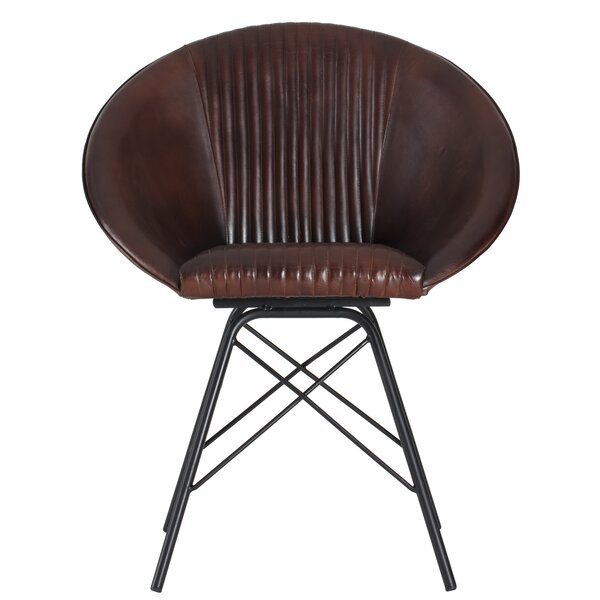 Keough Leather Armchair by George Oliver