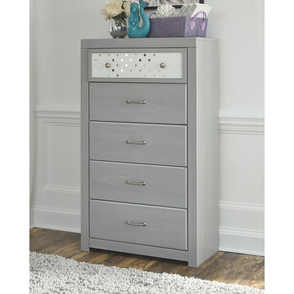 Porto 5 Drawer Chest by Latitude Run