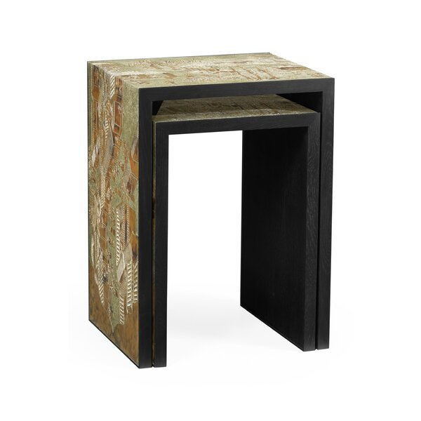 Fusion 2 Piece Nesting Tables By Jonathan Charles Fine Furniture