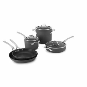 Calphalon Signatureu2122  8 Piece Nonstick Cookware Set