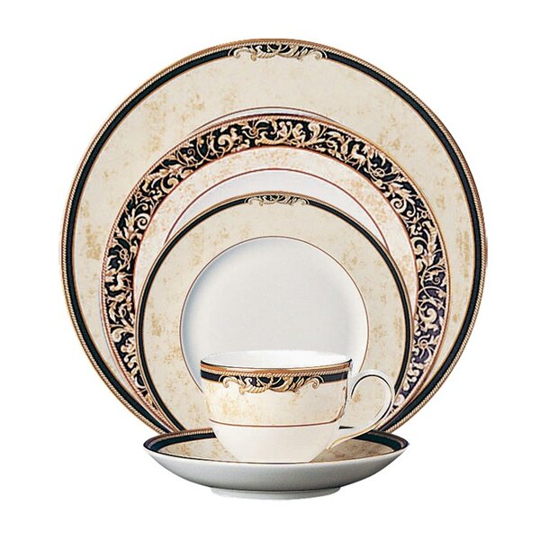 Cornucopia Bone China 5 Piece Place Setting, Service for 1 by Wedgwood