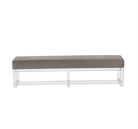 Avalon King Upholstered Bench by Interlude