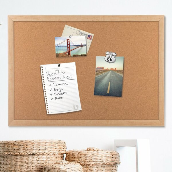 Wall Mounted Bulletin Board by U Brands LLC