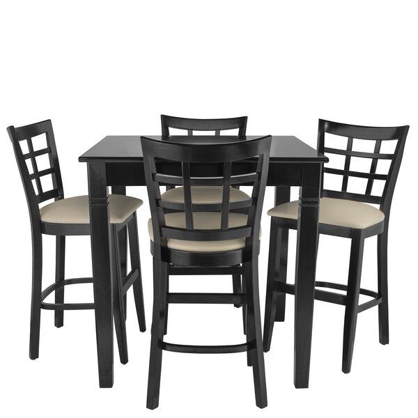Weinman 5 Piece Pub Table Set by Red Barrel Studio