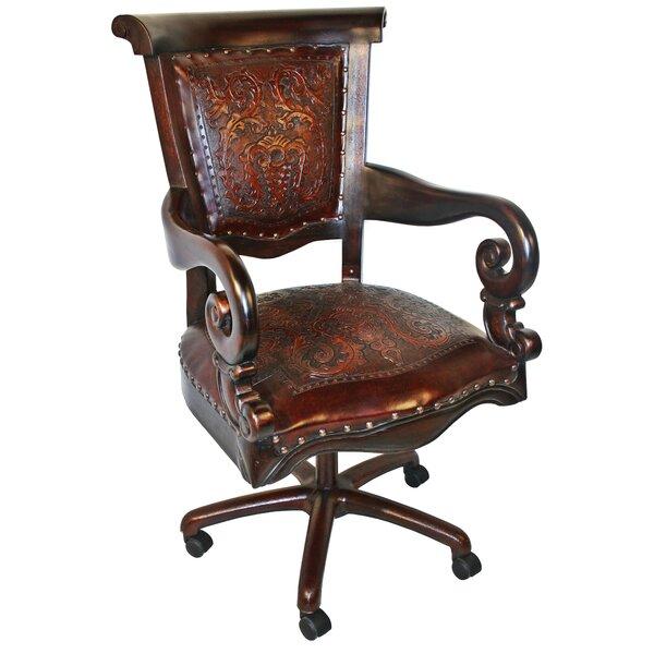Brawley Genuine Leather Task Chair