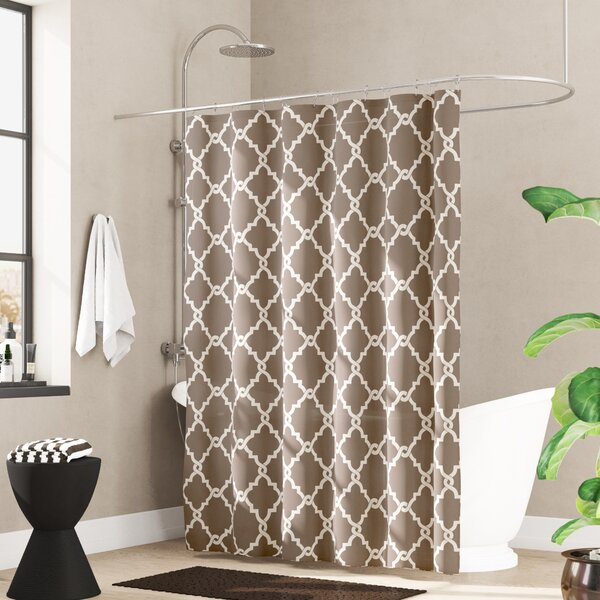 Alta Microfiber Shower Curtain By Zipcode Design.