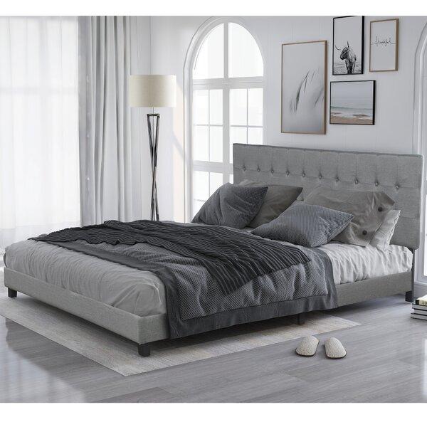 Terhune Upholstered Platform Bed by Red Barrel Studio
